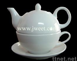 Insieme di tè della porcellana