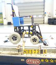 輪椅固定安全帶