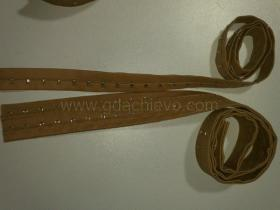 4-stitch Continuous Hook and Eye Tape 3/4',2 rows