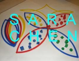 Sorting Rings With 3D Shapes Set, 46 PCS