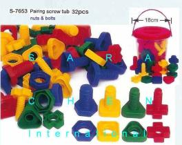 Paring Screw Tub (Nuts And Bolts Tub)