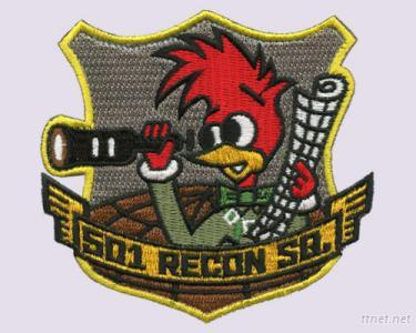 S01 Recon SQ Cartoon Embroidery Patches