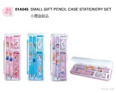 Small Gift Pencil Case Stationery Set