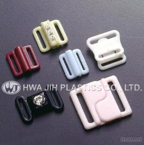 Plastic Front Fasteners for Brassiere / Swimming Suits