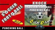 Mini Knock Soccer Ball W/ O-Lei Sounds