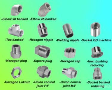 Stainless Steel 150PSI Threaded Fitting