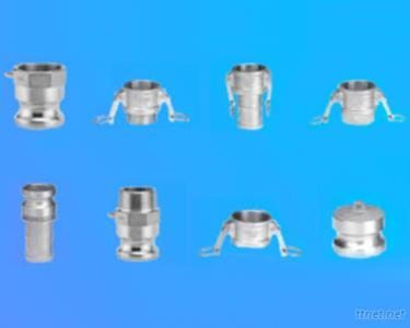 Aluminium/Stainless Steel Camlock & Grooved Quick Coupling