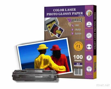 Color Laser Photo Glossy Paper