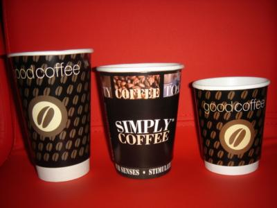 Disposable Double Wall Paper Cups