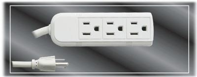 3 Outlets UL Extension Socket (130101)