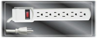 UL 6 Ways Electrical Outlet(1601)