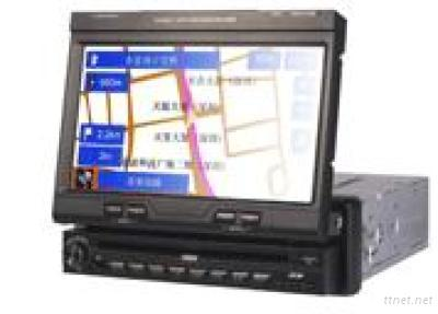 All-In-One 1DIN 7 Inch In-Dash DVD Multimedia Player