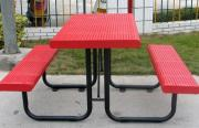 Steel Table And Chairs