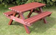 Recycle Plastic Wood Table And Chairs