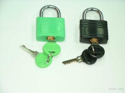ABS Coated Double Locking Padlock