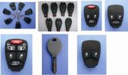 Tansponder Keys And Remotes For Chrysler Cars