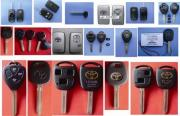 Transponder Keys And Shells For Toyota Cars