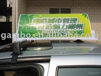 Taxi Top Light, Roof Sign, Advertising Box Light