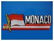MonacaFlag,EmbroideryPatch