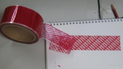 Tamper Evident Security Seal Tape, Security Tape