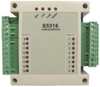 16 Channels Relay Outputs Modules (5316)