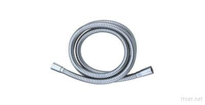 Brass Chrome-Plated Double-Lock Shower Hose