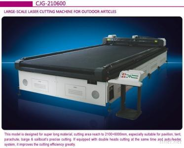 Outdoor Tents Rubber Boat Laser Cutting Machine