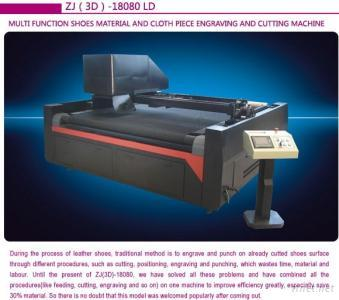 Cloth Piece Laser Engraving And Cutting Machine