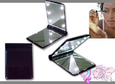 LED Pocket Mirror, Ilighted Travel Mirror