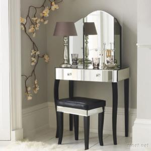 Mirrrored Dressing Table, Mirror Table