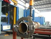 Movable Orbit-Type Pipe Cutting & Beveling Machine