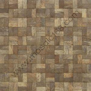 Coconut Wood Mosaic Manufacture Supply