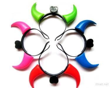 6 Pieces Fun and Cute Hair Toy--Light Barrette