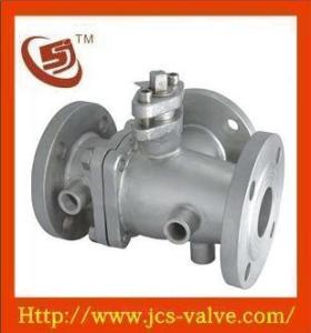 Jacketed Three-Way Ball Valve, Jacketed Ball Valve