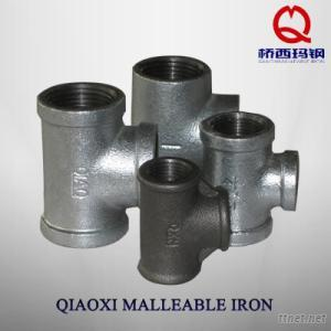Malleable Iron Pipe Fitting, tee