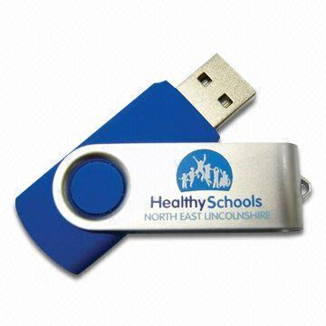 China Suppliers Swivel Classical Customized Usb Personalized Imprinted Logo