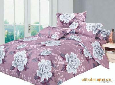 floral bedding sets with microfiber material