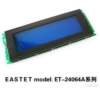 240X64 Bule Background Graphic LCD Modules