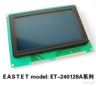 240X128 Blue Background Graphic LCD Modules