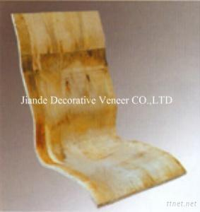 Curved Plywood Office Chair