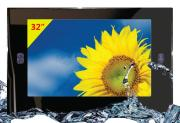32 Inches Waterproof Mirror Tv, Bathroom Mirror Tv