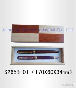 Wooden-Mosaic Pen Cases