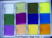Colour Charts Of Lamour Satin