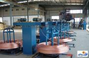 5000 Upward Continuous Casting Line For Oxygen-Free Copper Rod