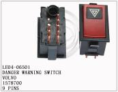 1578700,9 PINS,Danger warning switch for VOLVO
