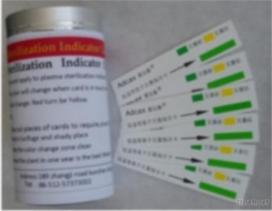 Plasma Sterilization Indicator Card