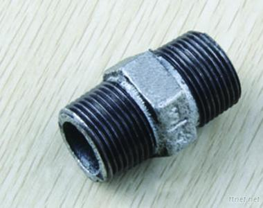 Galvanized Malleable Iron Pipe Fittings Nipples