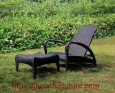 Chaise Lounge Patio Rattan Lounge Bed