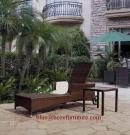 Patio Rattan Furniture Lounge Chaise