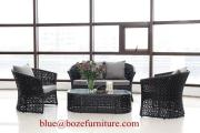 Patio Furniture Wicer Sofa Set